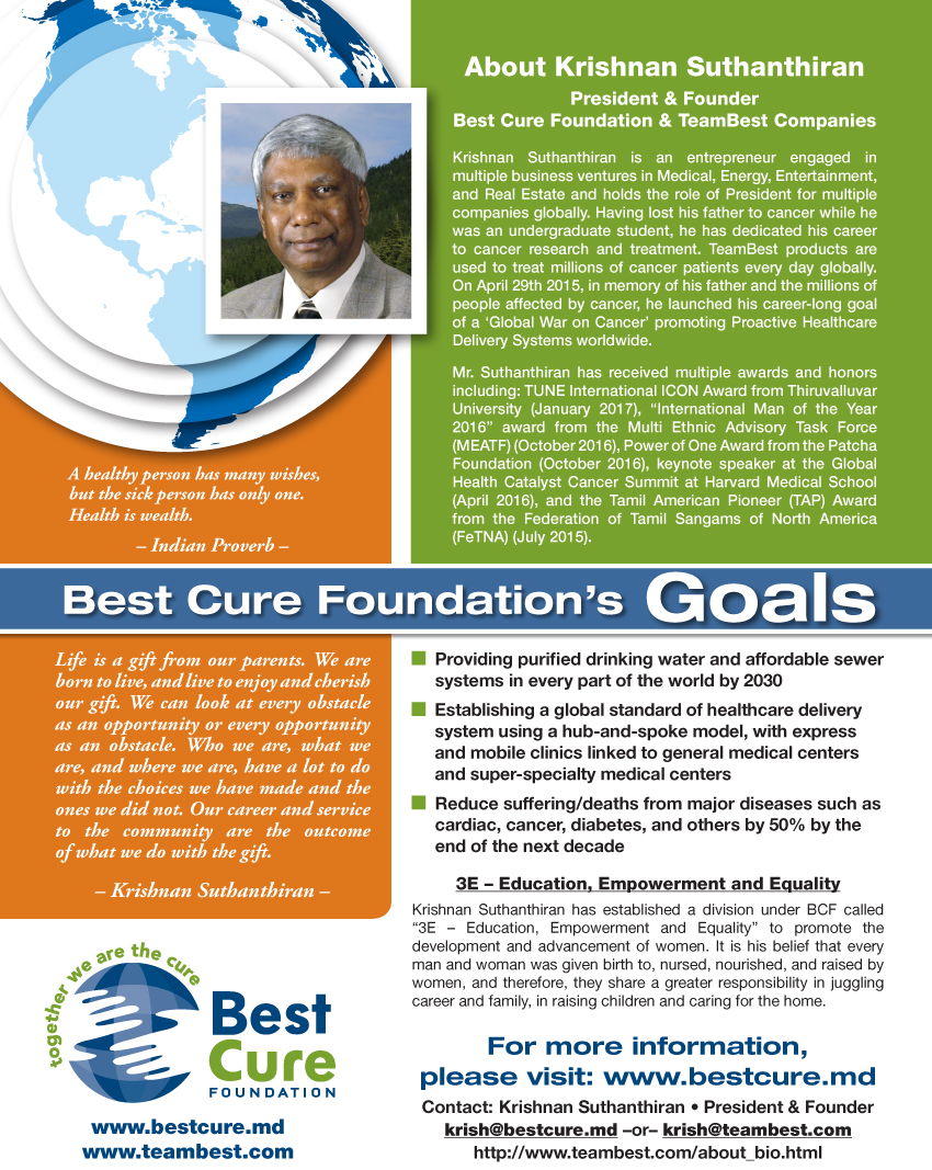Best Cure Foundation's Goals